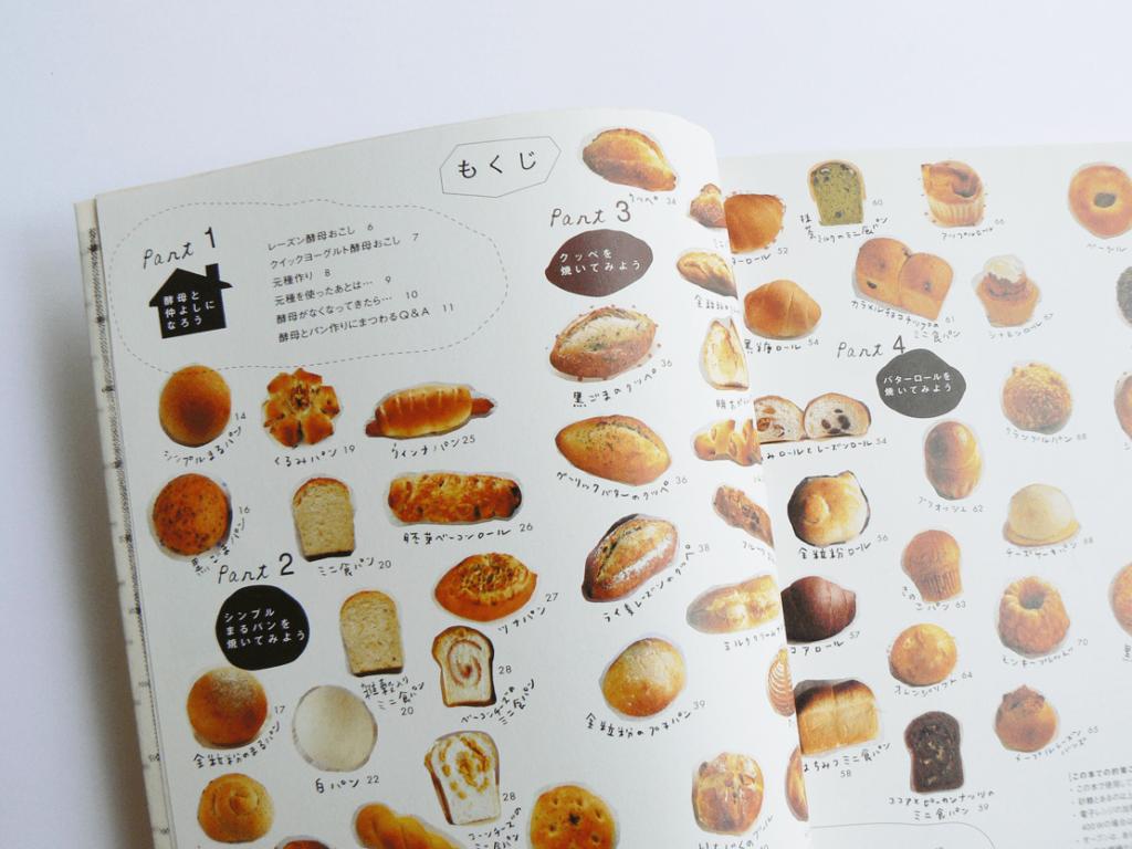 自家製酵母パンの本目次