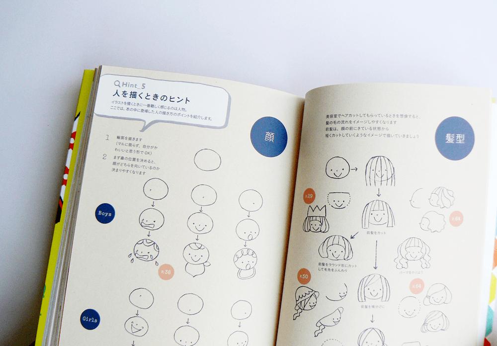 かわいいイラストと配色のアイデアブック7